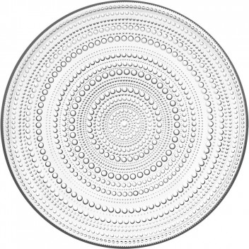 Talerz do ciasta Kastehelmi 31,5 cm Clear