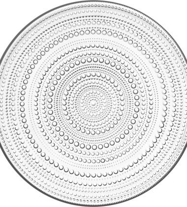 Talerz Kastehelmi 31,5 cm Clear