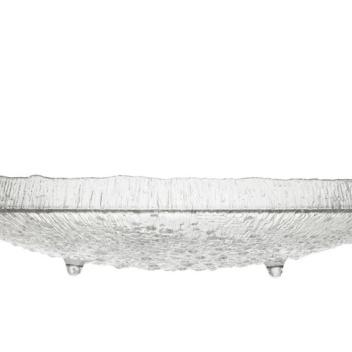Szklana Patera Talerz Ultima Thule Serving 37 cm