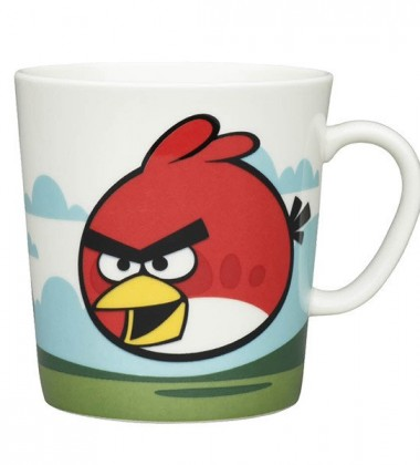 Kubek Angry Birds 400 ml Red