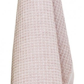 Ścierka kuchenna Maija 48x70 Biało-Różowa
