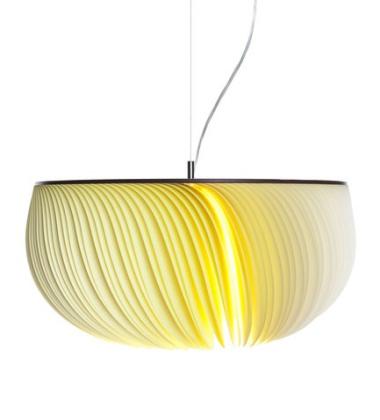 Lampa wisząca Moonjelly 51 cm Cytrynowa