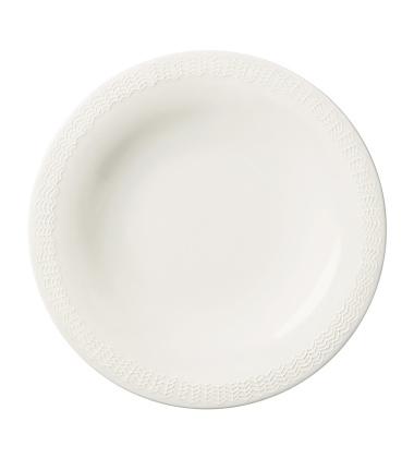 Talerz Sarjaton Letti 22 cm Biały
