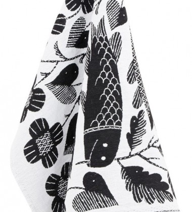 Ścierka kuchenna Kala 48x70 Czarno-Biała