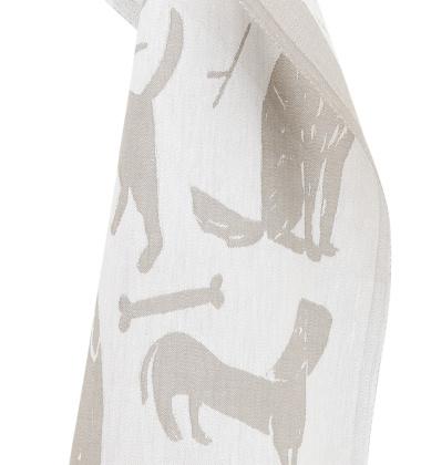 Ścierka kuchenna Koirapuisto 46x70 Biało-Lniana