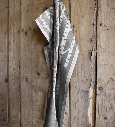 Ścierka kuchenna Koivu 46x70 Szara