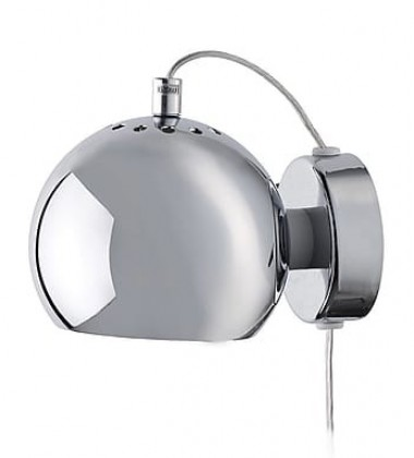 Lampa ścienna Ball Wall 12 cm Chrom