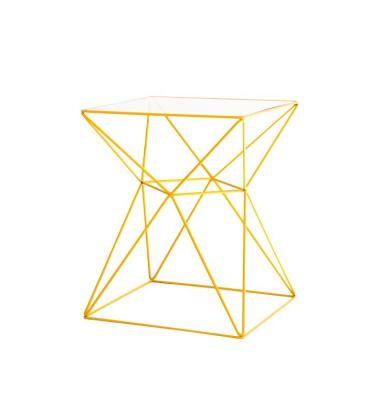 Stolik Foxhole 50 Coffee Side Table H60 Żółty