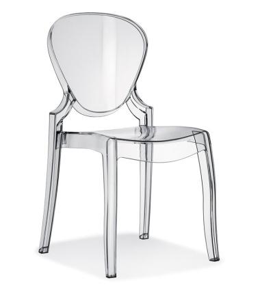 Krzesło Queen TR 650 Przezroczyste