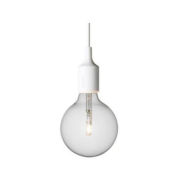 Lampa wisząca E27 Bulb Biała