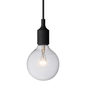 Lampa wisząca E27 Bulb Czarna