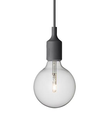 Lampa wisząca E27 Bulb Grafitowa