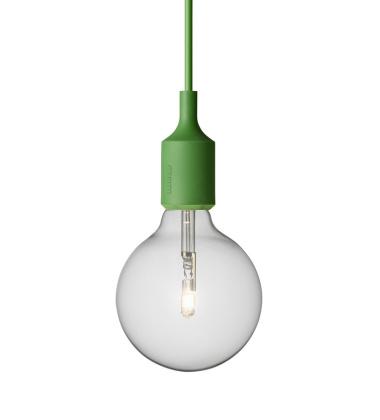 Lampa wisząca E27 Bulb Zielona
