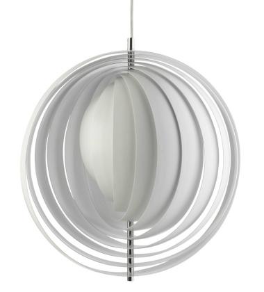 Lampa wisząca Moon 44,5 cm Biała EXPO