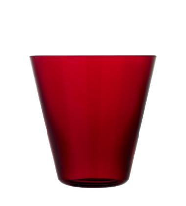 Szklanki Kartio Thin 340 ml Set of 2 Czerwone