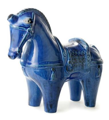 Figura konia Rimini Blu Cavallo No 138 H40x40