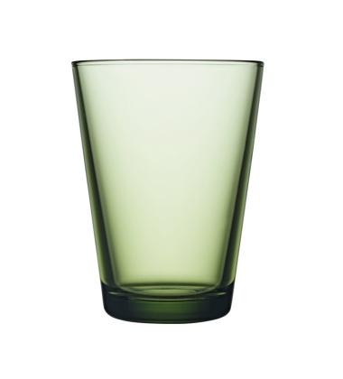 Kartio Glass 400 ml Set of 2 Forest Green