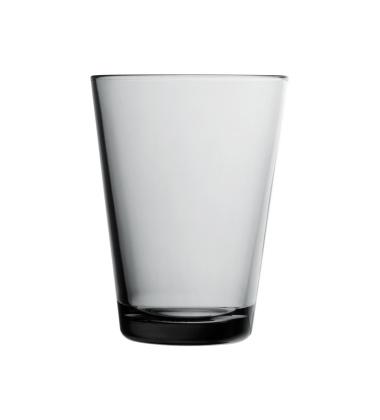 Kartio Glass 400 ml Set of 2 Grey