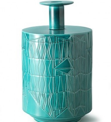 Vase A BLW-7 H38x23 Green