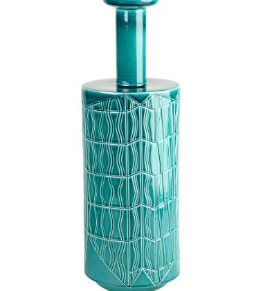 Vase C BLW-8 H49x16 Green