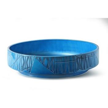 Bowl F BLW-12 H11x41 Blue