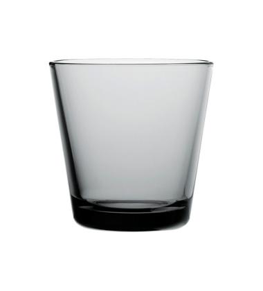 Kartio Glass 210 ml Set of 2 Grey