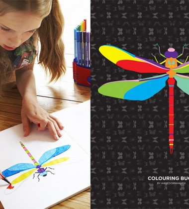 Kolorowanka Colourful Bugs 24 Colouring Book