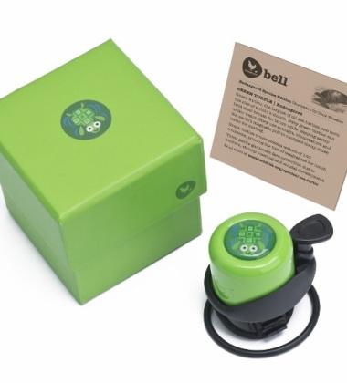 Dzwonek Rowerowy Żółw Zielony