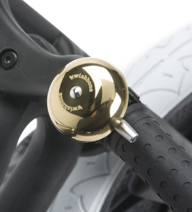 Dzwonek do roweru Gold Wishbone Złoty NEW!