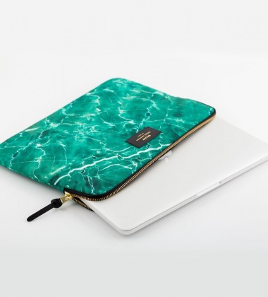 Etui na Laptopa 13-inch MacBook GREEN MARBLE