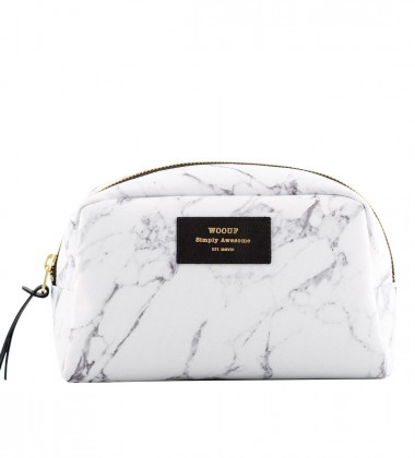 Duża Kosmetyczka Big Beauty Case WHITE MARBLE