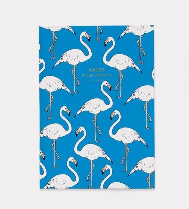 Notes Daily Notebook A5 FLAMINGO