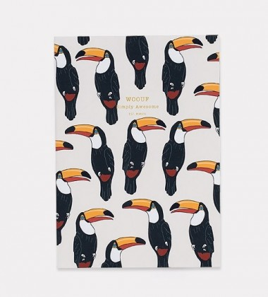 Notes Daily Notebook A5 TOUCAN
