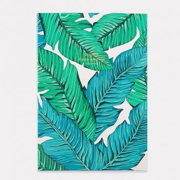 Notes Daily Notebook A5 TROPICAL