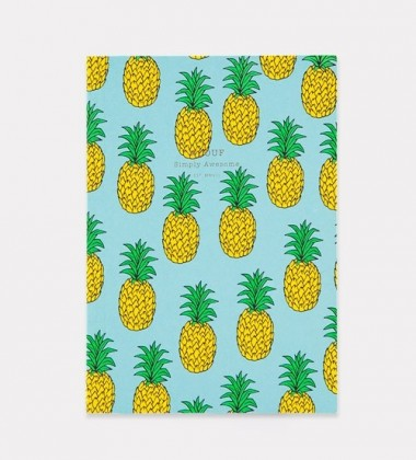Notes Daily Notebook A5 PINEAPPLE