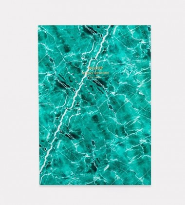 Notes Daily Notebook A5 GREEN MARBLE