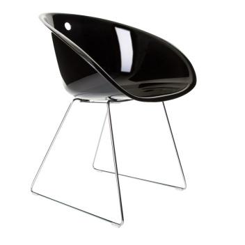Krzesło Gliss 921 na płozach Czarne