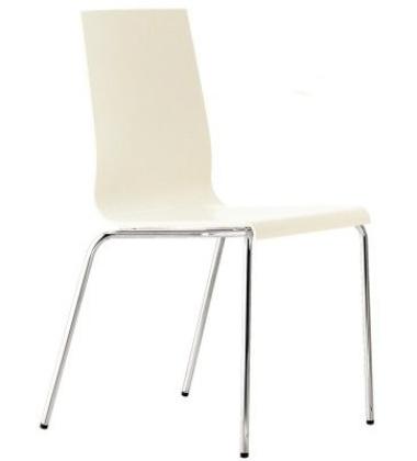 Komplet Krzeseł Kuadra 1151-AV Kremowe 2 sztuki
