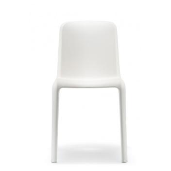 Krzesła Snow 300 4 szt. Białe