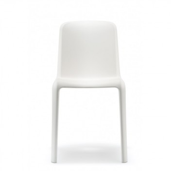 Krzesła Snow 300 komplet 4 szt. Białe