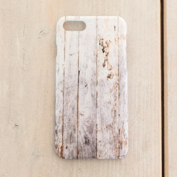 Etui na telefon Iphone 7 Case Wood-Monstera 2
