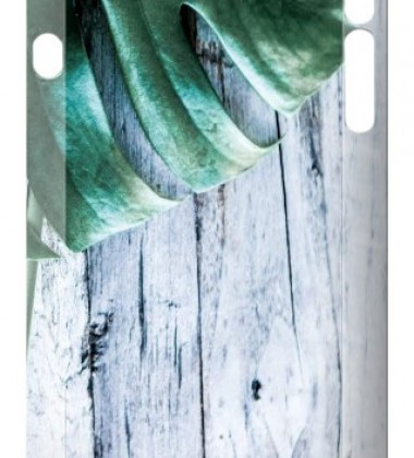 Etui na telefon Iphone 7 Case Wood-Monstera