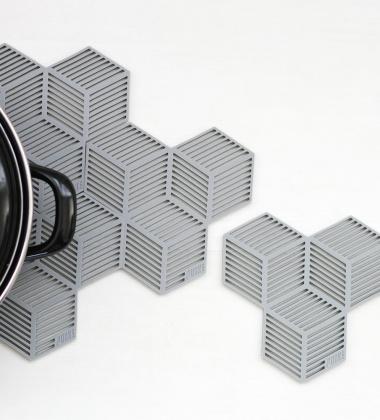 Silikonowe Podkładki Sico Set 4 Szare